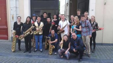 ArtezHKU saxophone orchestra 2011-2015