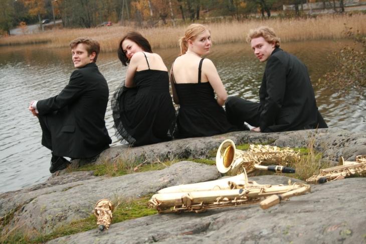 Con Sax Quartet 2006-2009