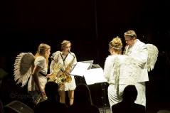 Paradiso saxophone quartet, December 2013